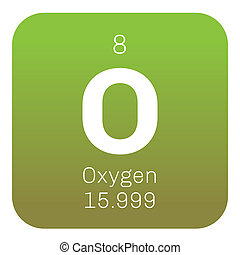 Oxygen chemical element periodic table science symbol oxygen chemical element urtaz Images