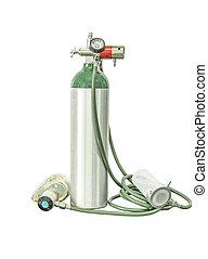 oxygen cylinder add clipping path