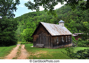 Ozark Church - Country church in the Ozark Mountains of ...