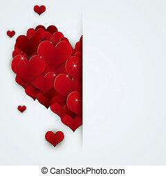 ozdoba, święto, valentine