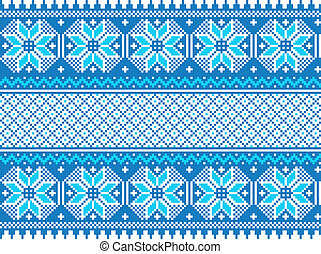 ozdoba, pattern., seamless, etniczny