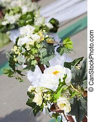 ozdoba, wesele, kwiaty