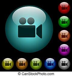 ozdobit iniciálkami, ikona, barva, hotelový poslíček, barometr, kamera, video