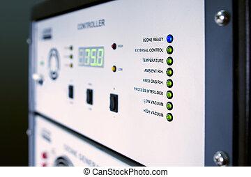 Ozone generator control - Control panel of ozone generator...