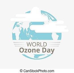 ozono, internazionale, strato, giorno, conservazione