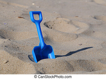pá, areia