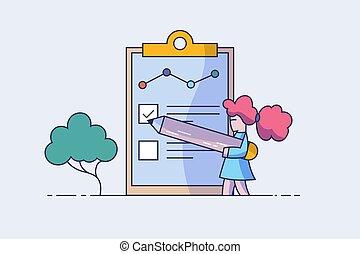 página, conceito, pessoas, summary., saída, teia, mídia, escreve, aplicação, selecione, empregado, preencher, apresentação, forma, retomar, ilustração, trabalho, documents., employment., form., vetorial, social