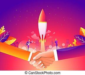 página, concepto, inicio, idea, estrategia, planificación,...