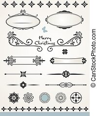 página, decoraciones