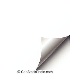 página, papel