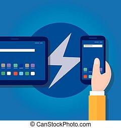 páginas, cerrojo relámpago, elegante, codificación, adeudo en cuenta, accelerated, programación, rápido, teléfono móvil, icono, velocidad, trueno, optimized