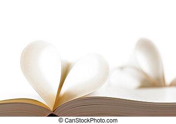 páginas, de, livro