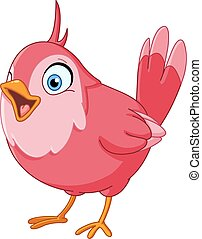 pájaro cantante