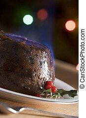pálinka, flamb, puding, karácsony