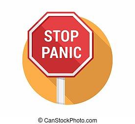 pánico, parada