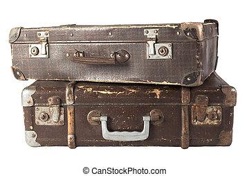 pár, bőrönd