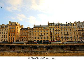 párizs, épület
