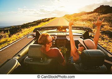 párosít, átváltható, vezetés, boldog