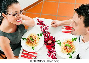 párosít, -ban, ebédel, vagy, vacsora