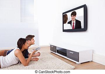 párosít karóra televízió, otthon