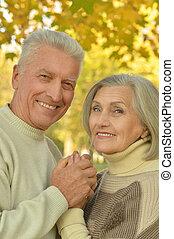 párosít, kaukázusi, öregedő