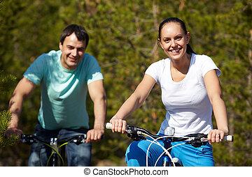 párosít, kerékpározás