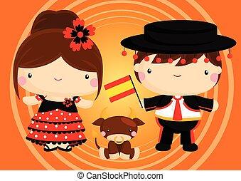 párosít, spanyolország