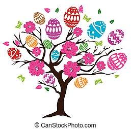 páscoa, árvore