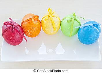 páscoa, arco íris
