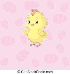 páscoa, galinha