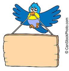 pássaro, sinal