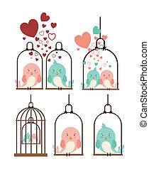 pássaros, desenho