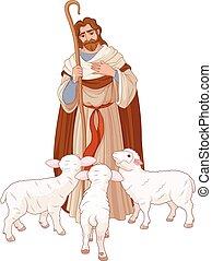 pásztor, jó