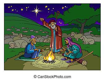 pásztor, star., story., karácsony