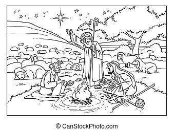 pásztor, story., star., karácsony