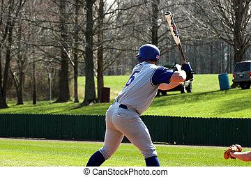 pâte frire base-ball