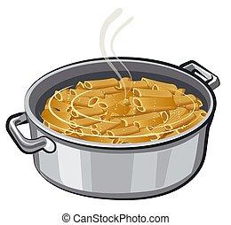 pâtes, ébullition