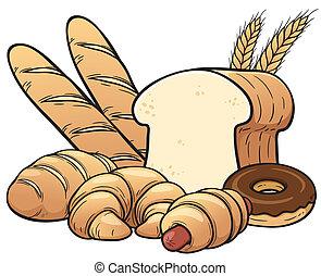 pães, jogo