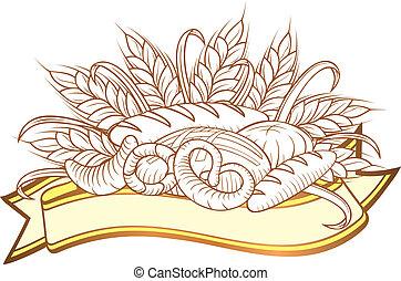 pão, engravings