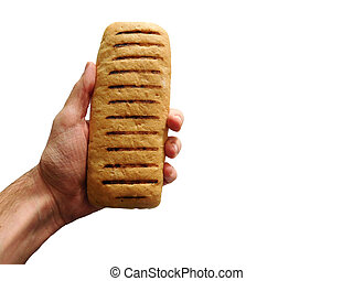 pão, mão