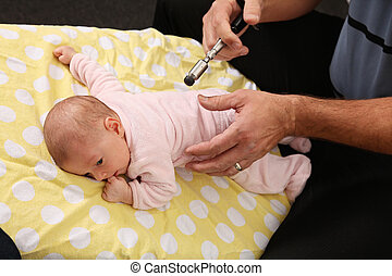 pädiatrisch, chiropraktik