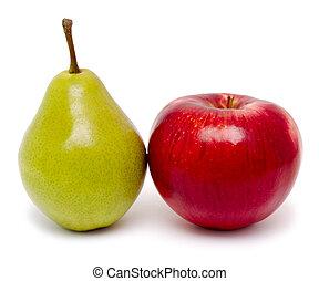 päron äpple
