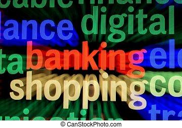 på förfaringssätt bankrörelse