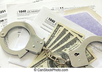 pålaga, papper, lagförslaget, handklovar, dollar