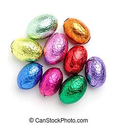 påsk, choklad