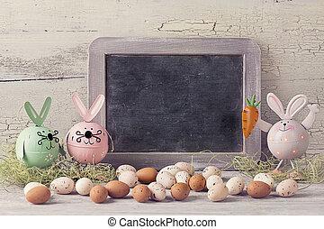 påsk, dekoration