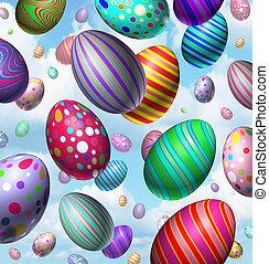 påsk egga, firande