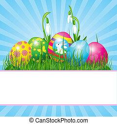 påsk eggar, bakgrund