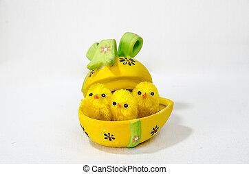 påsk, höna