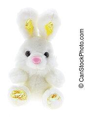 påsk, leksak, kanin